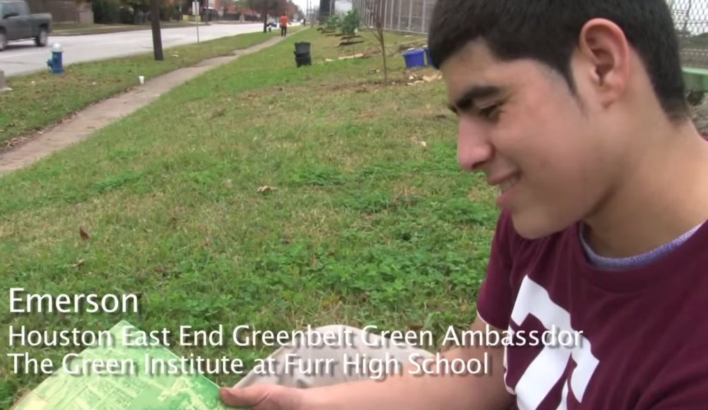 Emerson Houston Green Belt Ambassador