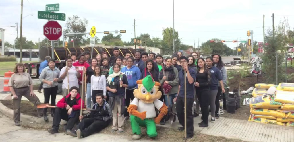 Houston GreenBelt Student Leaders