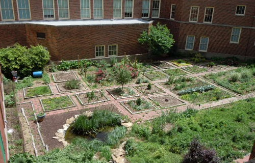 wyandotte-high-school-garden