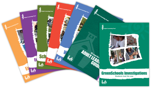 Cover for Project Learning Tree's GreenSchools Investigations and Adult Leader Guide