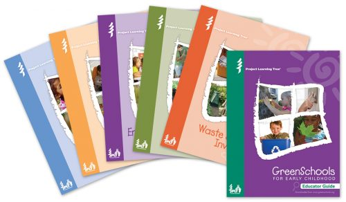Green Schools for Early Childhood Covers for Five Investigations and Educator Guide