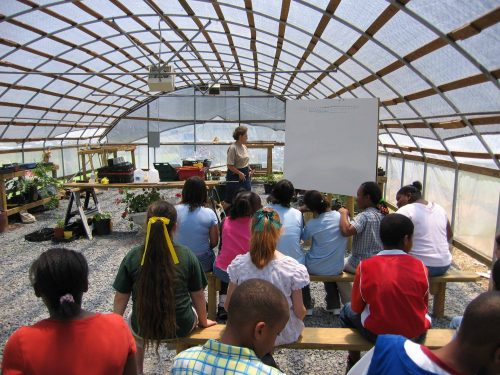 Oil City Elementary Greenhouse