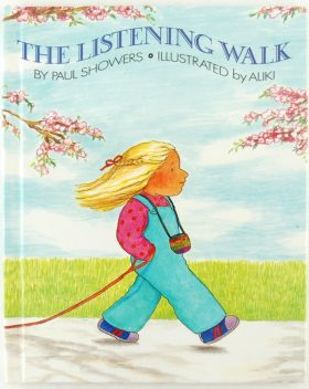 the listening walk children's reading book