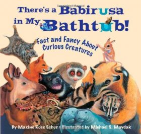 there's a babirusa in my bathtub children's reading book