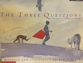 the three questions children's reading book
