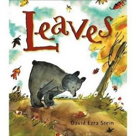 leaves children's reading book