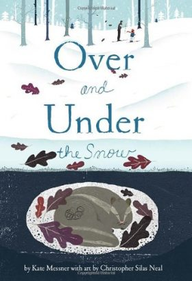 over and under the snow children's book