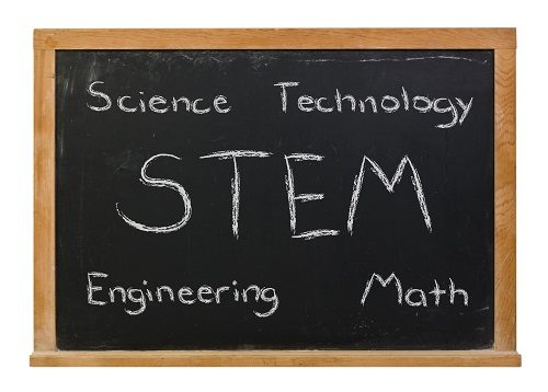 science-technology-engineering-math-written-in-chalk-on-blackboard