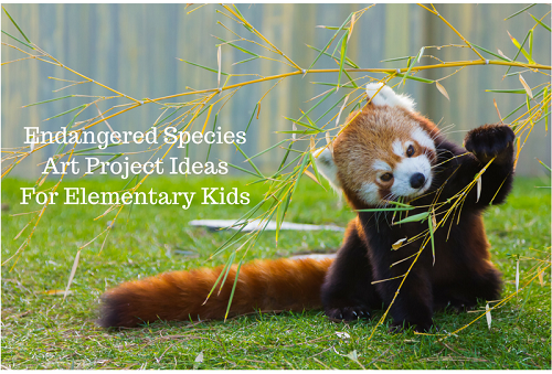 Endangered species art project ideas