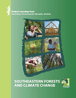 Cover for the Southeastern Forests and Climate Change high school curriculum