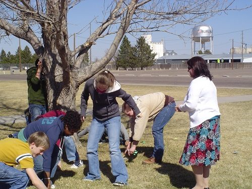 teacher-and-students-participate-in-every-tree-for-itself-plt-activity