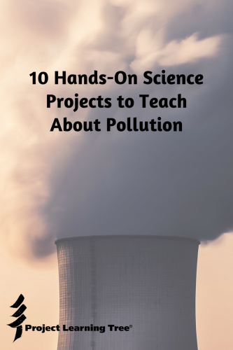 10 Hands on science projects to teach about pollution
