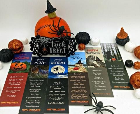 Halloween bookmarks Your True Nature