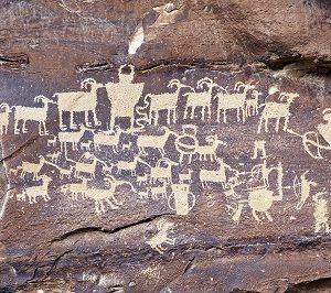 Petroglyphs-Utah