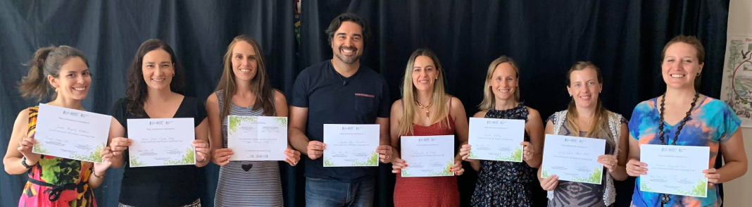 Newly-certified Chilean PLT Workshop Facilitators