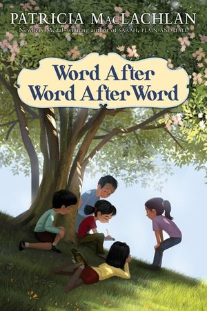 "book cover of ""word after word after word"""