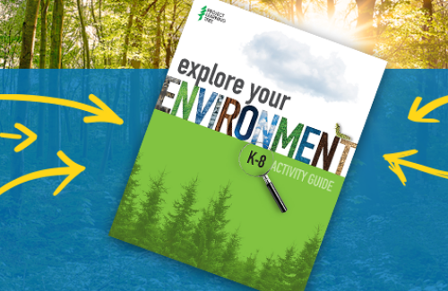 Cover of PLT's new K-8 Explore Your Environment Activity Guide