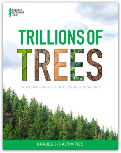 plt's cover of the trillions of trees collection with evergreen trees
